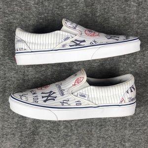 d538d67ac1 Vans Shoes - Vans classic slip-on MLB NY Yankees shoes